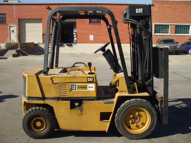 Caterpillar Forklift V50DSA - Used Forklifts Houston - Call 713-496-0250