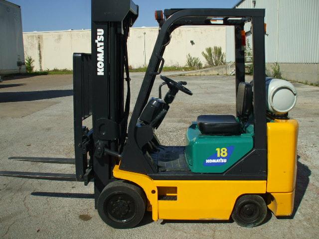 Komatsu FG18ST-16 - Used Forklifts Houston - Call 713-496-0250